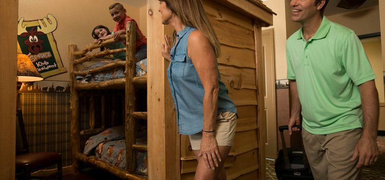 Kids' bunk bed suites