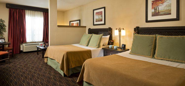 Premium room at Great Escape Lodge