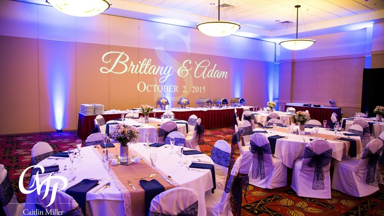 Wedding reception in Mohican Ballroom