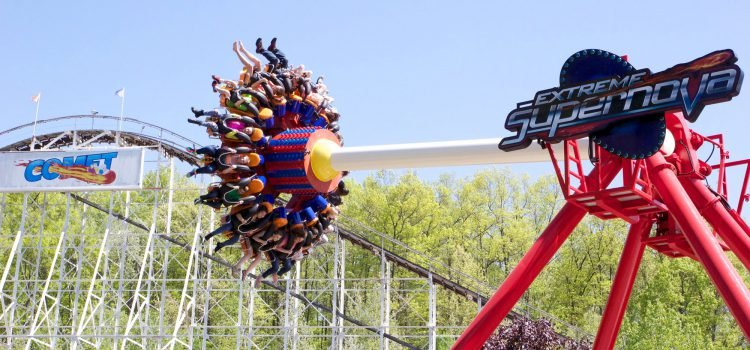 Extreme Supernova and Comet roller coaster